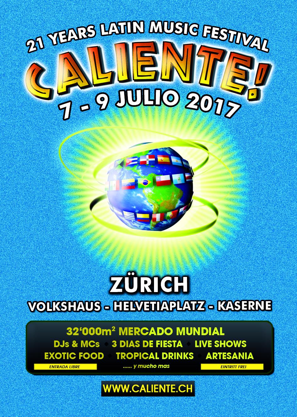Caliente Festival 2017